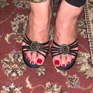 Yves Saint Laurent heels.
